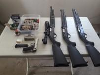 Isparta'da Silah Kaçakçılığı Operasyonu Açıklaması 2 Gözaltı