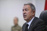 MILLI SAVUNMA BAKANı - Milli Savunma Bakanı Hulusi Akar, İYİ Parti Grubu'nu Ziyaret Etti