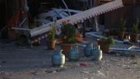 Mutfak Tüpü Gaz Sıkışması Sonucu Bomba Gibi Patladı