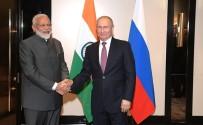 NARENDRA MODI - Putin, Modi İle Bir Araya Geldi