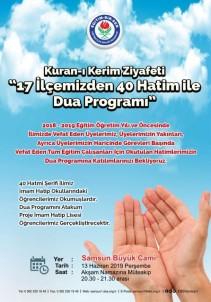 Samsun Eğitim-Bir-Sen 1 Nolu Şube'den Dua Programı