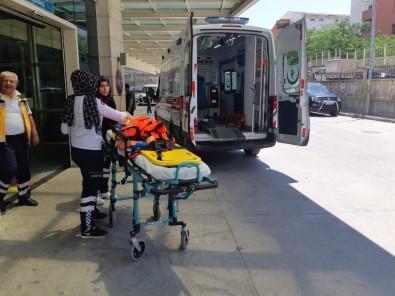 Siirt'te Traktör Devrildi Açıklaması 1 Yaralı