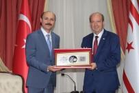 MILLI EĞITIM BAKANı - Talip Geylan KKTC Başbakanı Ersin Tatar'ı Ziyaret Etti