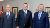 YEREL YÖNETİMLER - Taşdelen Anadolu OSB Yönetimi İle Bir Araya Geldi
