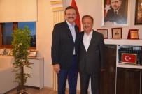 TOBB Başkanı Hisarcıklıoğlu'ndan Başkan Turgut'a Ziyaret