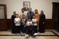 Üçüz Kardeşler Vali Ali Hamza Pehlivan'ı Ziyaret Etti