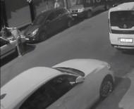 Akü Hırsızlığı Kamerada