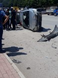 Antalya'da Zincirleme Kaza Açıklaması 1 Yaralı