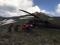 HELIKOPTER - Çatak'ta Yıldırım Düştü Açıklaması 1 Yaralı