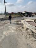 YEŞILTEPE - Ergene'de Kilit Taş Döşeme Çalışmaları Sürüyor