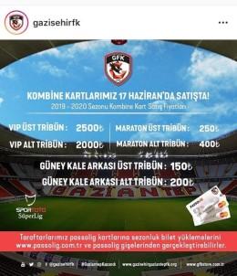 Gazişehir Gaziantep'te Kombine Fiyatları Belli Oldu