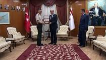 GÜNEY KIBRIS RUM KESİMİ - KKTC Başbakan Tatar, Tümgeneral Yılmaz Yıldırım'ı Kabul Etti