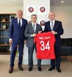 HASAN DOĞAN - Rekabet Kurumu Başkanı Ömer Torlak'tan Başkan Özdemir'e Ziyaret