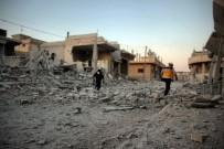 RUSYA - Rusya Ve Suriye Uçakları Hama Ve İdlib'e Saldırdı Açıklaması 28 Ölü