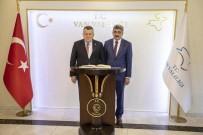 MEHMET AKARCA - Yargıtay Başkanı Cirit'ten Vali Bilmez'e Ziyaret
