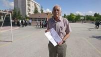 GİRİŞ BELGESİ - 75 Yaşında Üniversite Sınavına Girdi