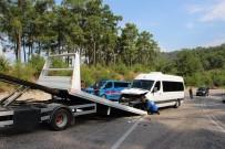 Antalya'da Trafik Kazası Açıklaması 11 Yaralı