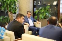 Eren Bülbül'ün Ağabeyinden Başkan Göksu'ya Ziyaret
