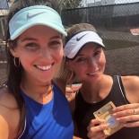 İPEK SOYLU - İpek Soylu İsrail'de Çiftlerde Şampiyon