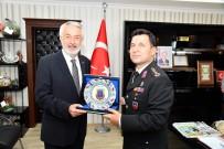Jandarma Komutanı Özdurhan'dan Başkan Başdeğirmen'e Ziyaret