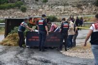 AŞIRI YAĞIŞ - Karacasu'da Trafik Kazası Açıklaması 1 Ölü