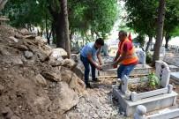 Kumluca Karşıyaka Mezarlığı'ndaki Onarımı Büyükşehir Yapacak
