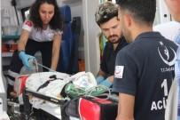 TıP FAKÜLTESI - Pencereden Düşen Bebek Ağır Yaralandı