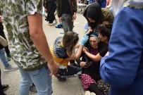 ŞEHİT ANNESİ - Şiddetli Rüzgarda Uçan Pazar Demiri Yaşlı Kadını Yaraladı