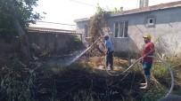 Yangını Gönüllü İtfaiyeciler Söndürdü