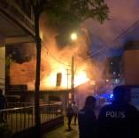 112 ACİL SERVİS - Alev Alan Lokanta Yanındaki Büfeyi De Tutuşturdu