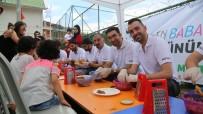 MALTEPE BELEDİYESİ - Babalarıyla 'En Baba' Kurabiyeleri Yaptılar