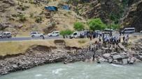 Habur Çayı'nda Kaybolan Çocuk Drone İle Arandı