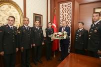 İl Jandarma Komutanlığı Heyetinden Vali Pehlivan'a Ziyaret