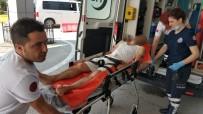 112 ACİL SERVİS - İntihara Kalkışan Şahsı Polis Pencereden Eve Girerek Kurtardı