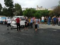 112 ACİL SERVİS - Kuşadası'nda Kamyonet Takla Attı, 1 Yaralı