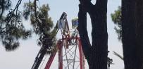 HELIKOPTER - Şenlik Alanındaki Gondolda Ölüme Davetiye Çıkartan Çalışma