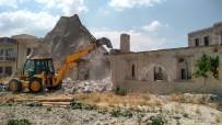 KAPADOKYA - 6 Kaçak Yapının Yıkımı Tamamlandı