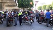 HIRSIZLIK BÜRO AMİRLİĞİ - Adana'da Motosiklet Uygulamasında Ceza Yağdı