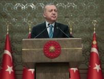 EROZYONLA MÜCADELE - Cumhurbaşkanı Erdoğan: Kaynakların korunması tüm insanlığın iş birliğiyle mümkün