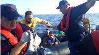 İRAN - Edirne'de, Lastik Botta 37 Düzensiz Göçmen Yakalandı
