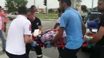 Edirne'de Trafik Kazası Açıklaması 5 Yaralı