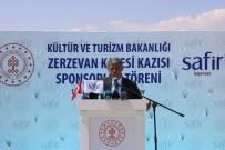 İMZA TÖRENİ - Zerzevan Kalesi'nde Kültür Ve Turizm Bakanlığı Ve Safir Tuz Arasında Sponsorluk İmza Töreni Gerçekleşti