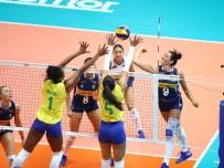 BREZILYA - 2019 FIVB Voleybol Milletler Ligi Açıklaması Brezilya Açıklaması 3 - İtalya Açıklaması 0