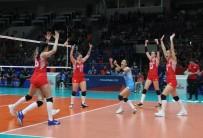 EBRAR - 2019 FIVB Voleybol Milletler Ligi Açıklaması Türkiye Açıklaması 1 - Belçika Açıklaması 3