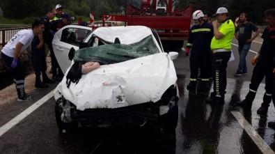 Bolu'da dereye düşen otomobildeki 3 kişi hayatını kaybetti