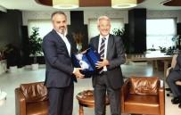 SİYASİ PARTİLER - Büyükşehir Belediye Başkanı Aktaş'tan Nilüfer Belediye Başkanı Turgay Erdem'e 'Hayırlı Olsun' Ziyareti