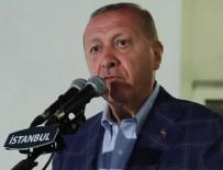 Cumhurbaşkanı Erdoğan'dan dikkat çeken çıkış