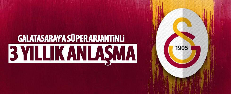 Galatasaray'da Arjantinli yıldıız!