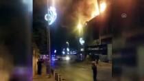 İstanbul'da İş Yeri Yangını