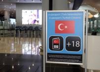 PARMAK İZİ - İstanbul Havalimanı'nda Pasaporttan Hızlı Geçiş Sistemi Başladı